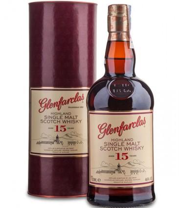 GLENFARCLAS 15YO 70CL/46% + GB