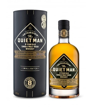 QUIET MAN MALT 8Y 70CL/40% + GB