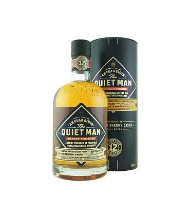 QUIET MAN MALT 12Y SHERRY 70CL/46% + GB
