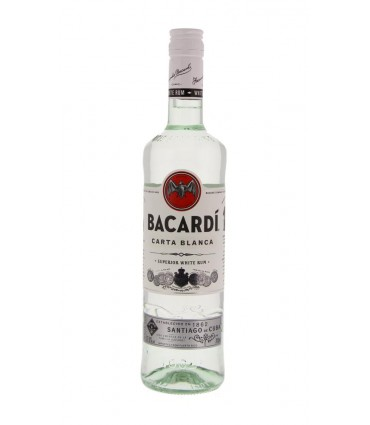 BACARDI CARTA BLANCA 70CL/37.5%