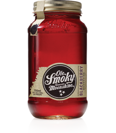 OLE SMOKY MOONSHINE BLACKBERRY 50CL/20%