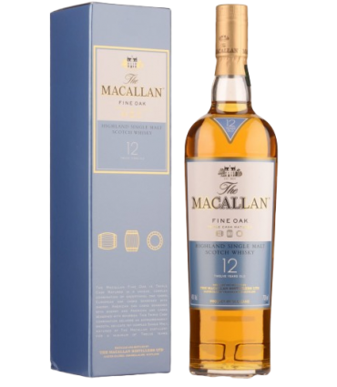 THE MACALLAN 12YO FINE OAK 70CL/40% + GB