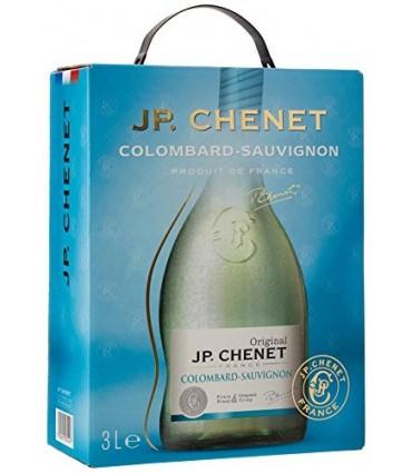 JP CHENET BLANC COLOMBARD- SAUVIGNON BIB 3L 11.5°
