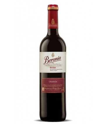 BERONIA CRIANZA 2016 ROUGE 75CL