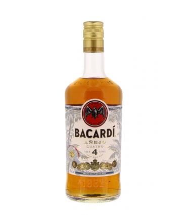 BACARDI 4 ANOS 70CL/40%
