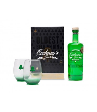 COCKNEY'S PREMIUM GIN 70CL/44.2% + GIFT BOX