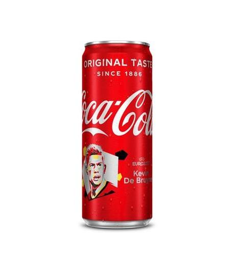 COCA-COLA SLEEK CANS 0.33L X 24